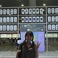 機場內祇園祭的宣傳