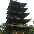 第一個景點-奈良五重塔
