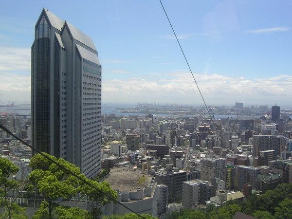 從纜車上看神戶