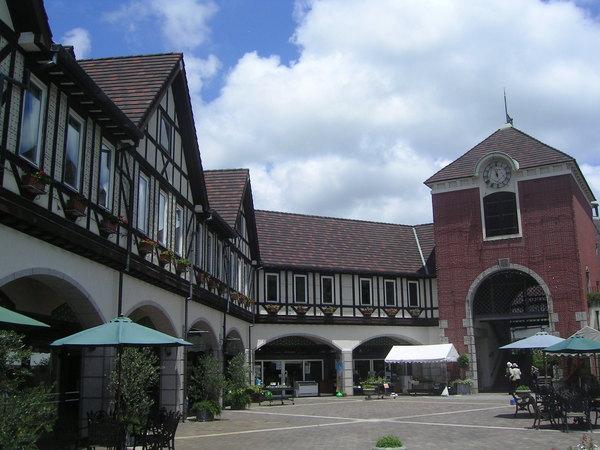 布引花園的歐式建築