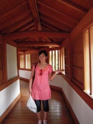 姬路城西院唯一一條明亮的迴廊.jpg