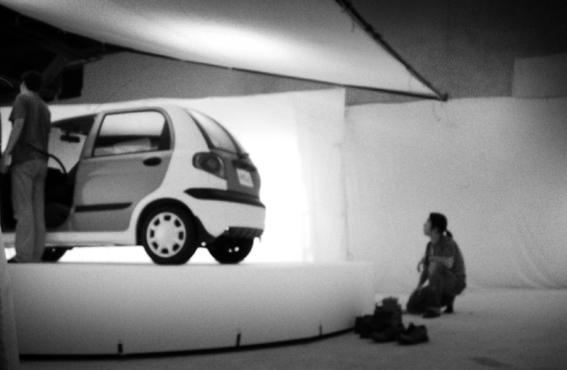 廣告拍攝--拍車子很麻煩之準備360度大旋轉