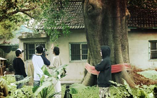 種樹的男人紀錄片拍攝--一棵有感情的樹~