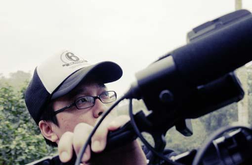 種樹的男人紀錄片拍攝--導演阿喵