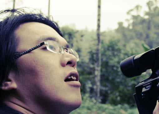 種樹的男人紀錄片拍攝--攝影師阿樂