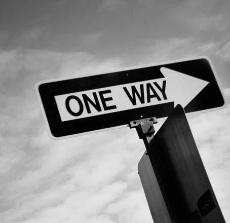 ONE WAY是哪個WAY?