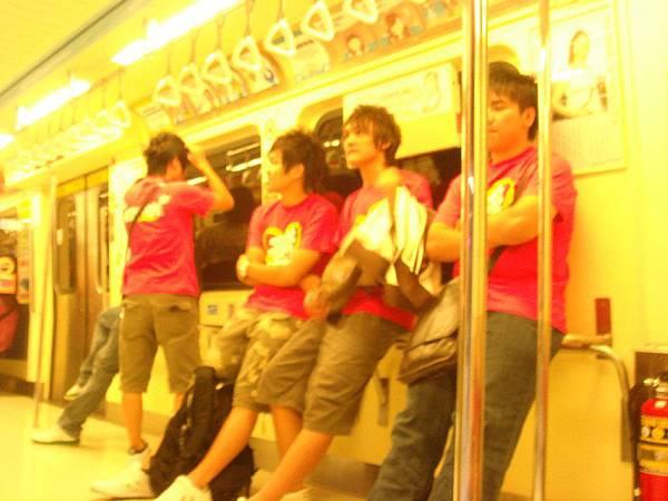 In 捷運上