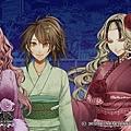 PSP AMNESIA CROWD  私大好き女性 主人公と親友 三人サワ~ ミネ~ リカ ~ 可愛い ^^~