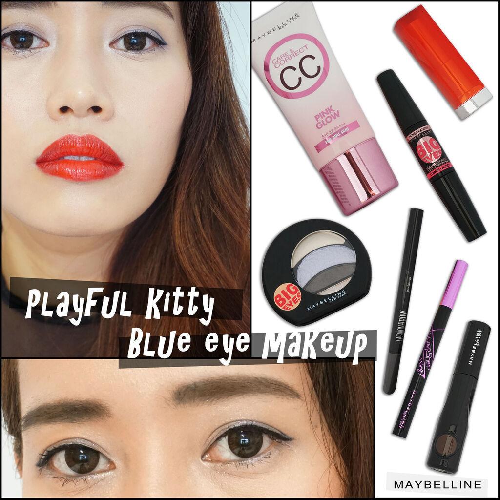 Maybelline makeupswan
