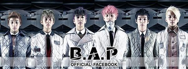 B.A.P 官方臉書封面