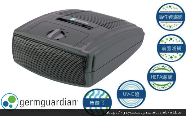 Germguardian 桌上空氣清淨機 AC4010