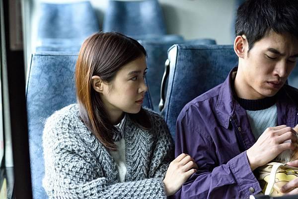 李佳穎與張書豪在劇中演出情侶