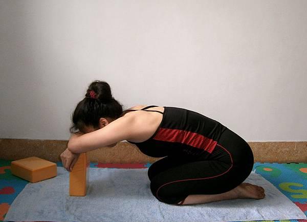瑜伽磚休息 (3)