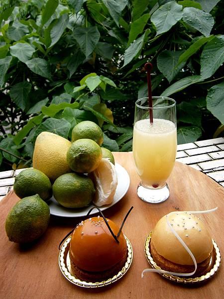 檸檬柚子汁
