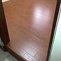 手刮紋木地板-坎培拉橡木-20111101傳統架高原為磁磚.3坪-超耐磨木地板/強化木地板