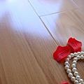 鋼琴面拍立扣/鋼琴烤漆-日本櫸木4-超耐磨木地板/強化木地板