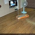鋼琴面拍立扣-柚木 9910127-超耐磨木地板/強化木地板