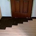 簡約無縫木地板-歐洲白橡-11101004施工中-八里 超耐磨木地板/強化木地板