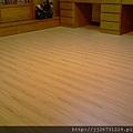 簡約無縫木地板-歐洲白橡-11101005施工後1-八里 超耐磨木地板/強化木地板
