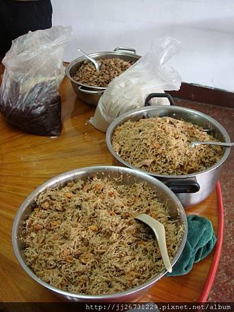 20120318-01材料-07蘿蔔絲+蝦米+肉絲+香菇+豬肉+油蔥酥01