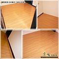 鋼琴面拍立扣-日本櫸木-2012三峽北大 房2-超耐磨木地板/強化木地板