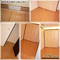 鋼琴面拍立扣-日本櫸木-2012三峽北大 房3-超耐磨木地板/強化木地板