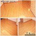 鋼琴面拍立扣-日本櫸木-2012三峽北大 房4-超耐磨木地板/強化木地板