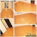 鋼琴面拍立扣-日本櫸木-2012三峽北大 廳1-超耐磨木地板/強化木地板