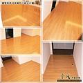 鋼琴面拍立扣-日本櫸木-2012三峽北大 廳4-超耐磨木地板/強化木地板