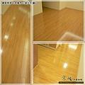 鋼琴面拍立扣-日本櫸木-2012三峽北大 廳6-超耐磨木地板/強化木地板