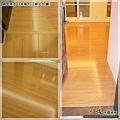 鋼琴面拍立扣-日本櫸木-2012三峽北大 廳7-超耐磨木地板/強化木地板