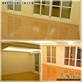 鋼琴面拍立扣-日本櫸木-2012三峽北大 廳8-超耐磨木地板/強化木地板