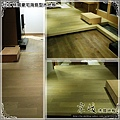 代工桃園豪宅 海島型木地板1