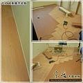 代工超耐磨海島木地板-黃金柚木3