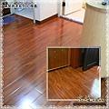 鋼琴面拍立扣-紅檀香-P1110382-內湖-超耐磨木地板/強化木地板