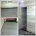 長板水波紋-現代橡木-20120506-09廁所前門檻-超耐磨木地板強化木地板