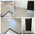 真木紋 水洗白橡-12050507-淡水竹圍 超耐磨木地板強化木地板