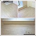 真木紋 水洗白橡-12050509-淡水竹圍 超耐磨木地板強化木地板