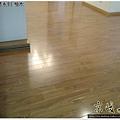 鋼琴面拍立扣-柚木-1203191084- 永和-超耐磨木地板強化木地板