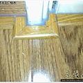 鋼琴面拍立扣-柚木-1203191089- 永和-超耐磨木地板強化木地板