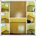 晶鑽-經典柚木-1206233-PS架高6公分+直鋪-內湖-超耐磨木地板強化木地板