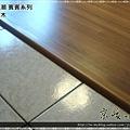 無縫抗潮-賓賓系列-12071407-門口1-經典柚木-三峽老街-超耐磨木地板 強化木地板.JPG