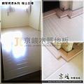 鋼琴面拍立扣-瑞士白橡-12051402-鋪在塑膠地磚上 超耐磨木地板 強化木地板.jpg