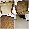 無縫抗潮  賓賓系列-巧克力木-12121110臥二-鶯歌 超耐磨木地板 強化木地板