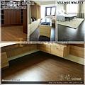 都會時尚系列-鄉村胡桃06-超耐磨木地板.強化木地板