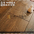 歐風系列-咖啡橡木01-超耐磨木地板.強化木地板