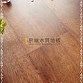 無縫抗潮 同步真木紋-煙燻紅橡木3-超耐磨強化木地板