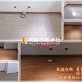 無縫抗潮 賓賓系列 稻香橡木-032113房B3-土城 超耐磨木地板.強化木地板