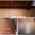 無縫抗潮 賓賓系列 稻香橡木-032113廚房前-土城 超耐磨木地板.強化木地板