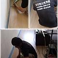 無縫抗潮-賓賓系列-03261303-洗白柚木-忠孝東路五段 超耐磨木地板.強化木地板